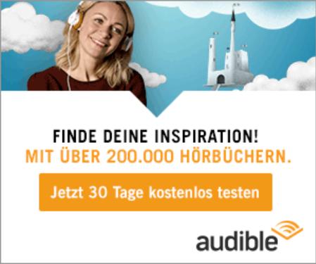 Audible Hörbücher Werbebanner