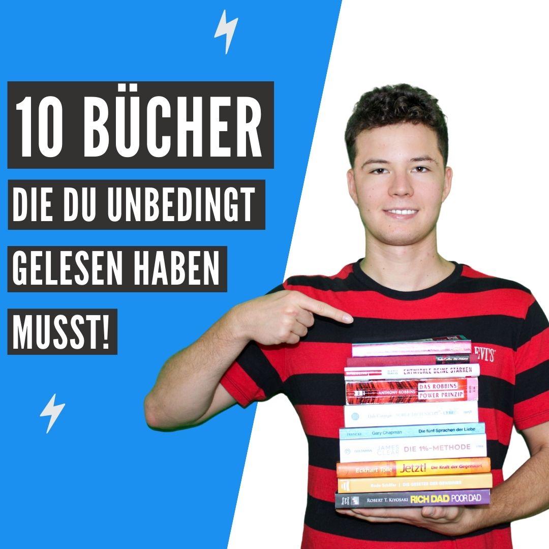 10 Bücher die du unbedingt gelesen haben musst